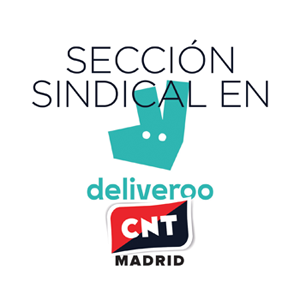 sección sindical de CNT Madrid en Deliveroo