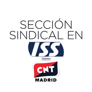 sección sidnical de CNT Madrid en Telefónica ISS